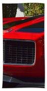 Red Camaro Bath Towel