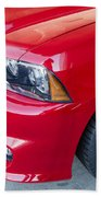 Red Charger 1508 Bath Towel