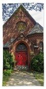 Red Door Church Bath Towel