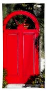Red Door Bath Towel
