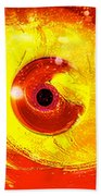 Red Eye Bath Towel