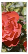 Red Flower IIi Bath Towel