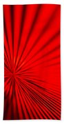 Red Glass Abstract 7 Bath Towel