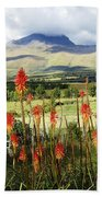 Red Hot Pokers Of The Andes Bath Towel