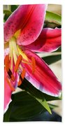 Red Lilly 8095 Bath Towel