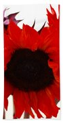 Red Lullaby No2 Hand Towel