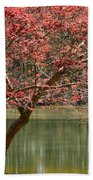 Red Maple Bath Towel