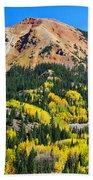 Red Mountain Bath Towel