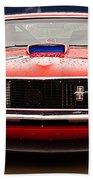Red Mustang Bath Towel
