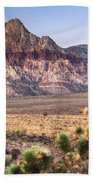 Red Rock Canyon Lv Hand Towel