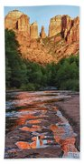 Red Rock Crossing Bath Towel