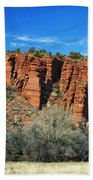 Red Rock State Park Bath Towel