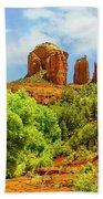 Red Rock State Park Sedona Arizona Bath Towel