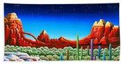 Red Rocks 5 Hand Towel