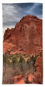 Red Rocks At Garden Of The Gods Bath Towel