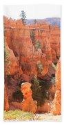 Red Rocks - Bryce Canyon Bath Towel