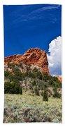 Red Rocks In Colorado Bath Towel