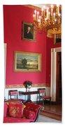Red Room White House Bath Towel