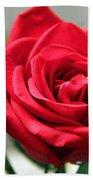 Red Roses Bath Towel