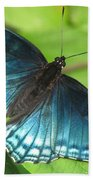 Red-spotted Purple Bath Towel
