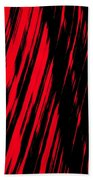 Red Storm Bath Towel