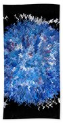 Red  White  Blue  Abstract Bath Towel