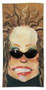 Ginger In Sunglasses Bath Towel