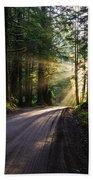 Redwood National Park Morning Bath Towel