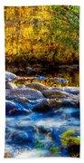 Reflection Of Autumns Natural Beauty Bath Towel