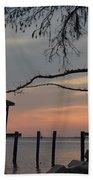 Reflection On Lake Bath Towel