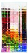 Reflections In Technicolor Bath Towel