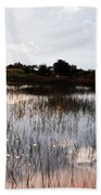 Reflections In The Everglades  Bath Towel