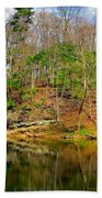 Reflections Of Earth Hand Towel