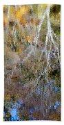 Reflections Of Fall 5 Bath Towel