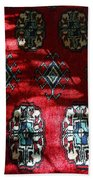 Reflections On A Persian Rug Bath Towel