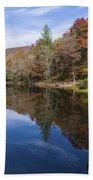 Reflection On Lake Winfield Scott 2 Bath Towel