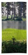 Refuge In The Mountains Bath Towel