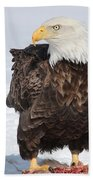 Regal Eagle Bath Towel