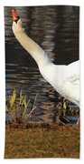 Relaxed Swan Bath Towel