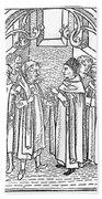 Religious Argument, 1477 Bath Towel
