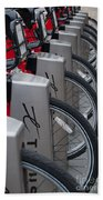 Rental Bikes Bath Towel