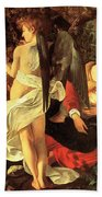 Rest On The Flight Into Egypt Bath Towel