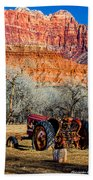 Retired With A View Bath Towel