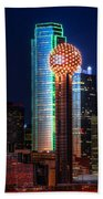 Reunion Tower Bath Towel