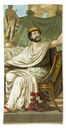 Rex Sacrificulus, Illustration Bath Towel