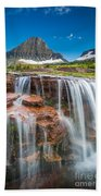 Reynolds Mountain Falls Bath Towel