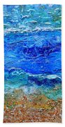Rhapsody On The Sea Square Crop Bath Towel