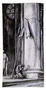 Rheims Cathedral, Scene From St Joan Hand Towel