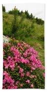 Rhododendron Bath Towel