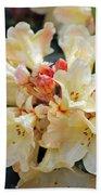 Rhododendron Nancy Evans Bath Towel